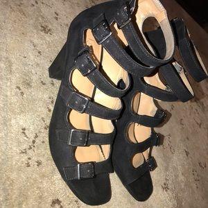 Franco Sarto Strap Heels